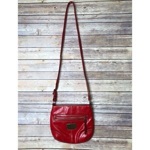 EUC Franco Sarto Red cross body bag